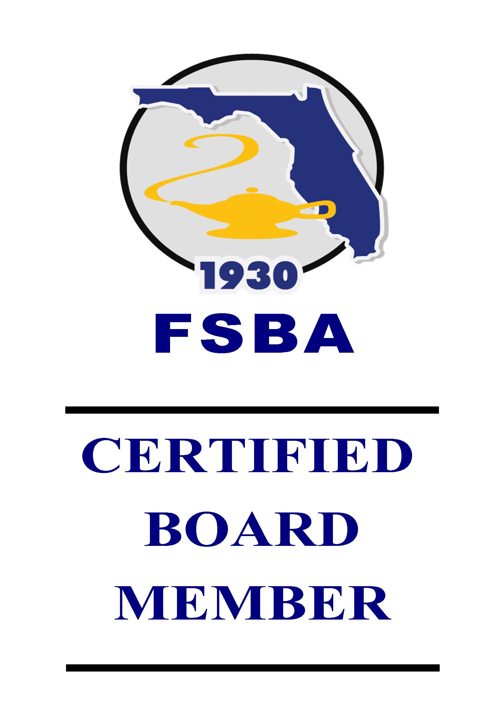 Certified board member cbm program florida school boards the certified board member program is comprised of several training sessions designed to meet the developmental needs of individual board members 1betcityfo Images
